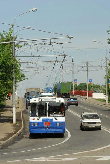 троллейбуса в Подольске»