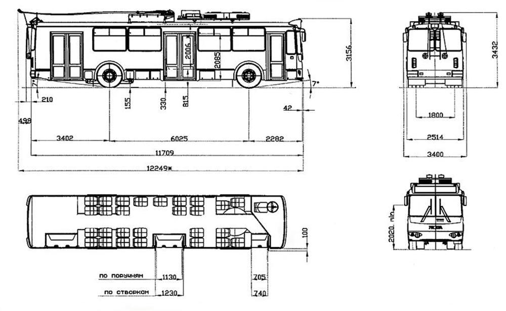 Троллейбус ЗиУ- 682Г- 01 · «